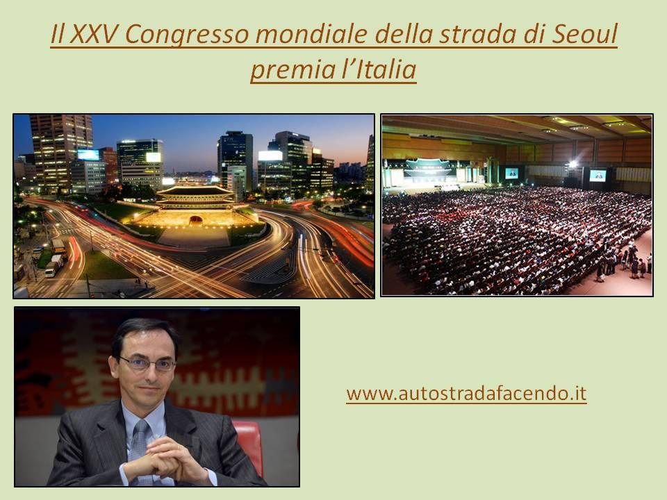 XXV Congresso mondiale di Seoul premia It